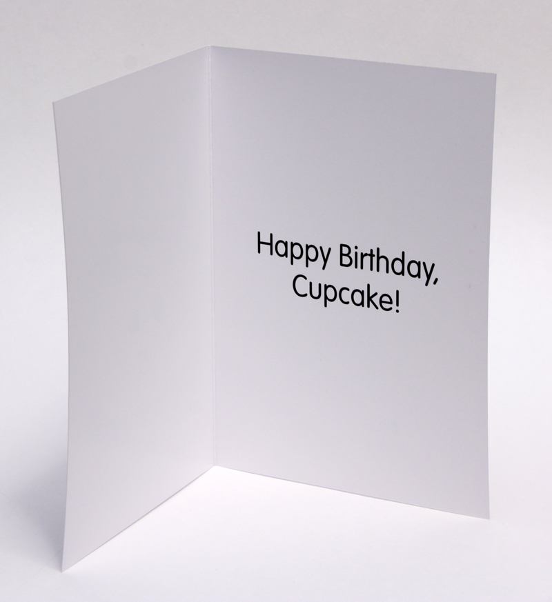 cupcake birthday card  awesome sauce designs  vancouver stained, Birthday card