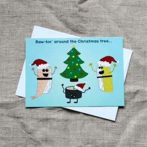 Sushi Christmas Card